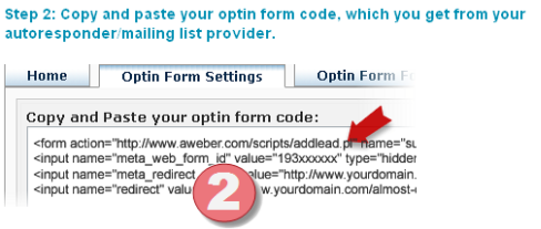 MaxBlogPress Optin Form