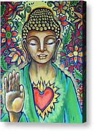 SACRED HEART BUDDHA